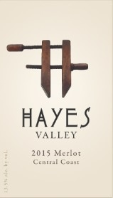 Hayves Valley Merlot Label
